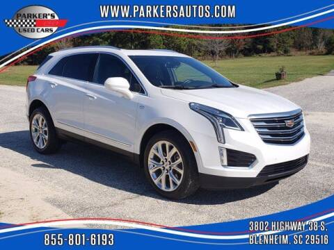 2017 Cadillac XT5 for sale at Parker's Used Cars in Blenheim SC