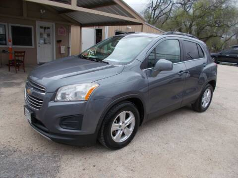 2015 Chevrolet Trax for sale at DISCOUNT AUTOS in Cibolo TX
