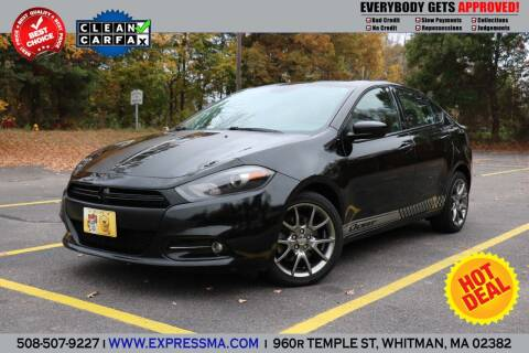 2013 Dodge Dart for sale at Auto Sales Express in Whitman MA