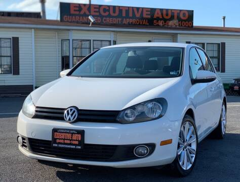 2014 Volkswagen Golf for sale at Executive Auto in Winchester VA