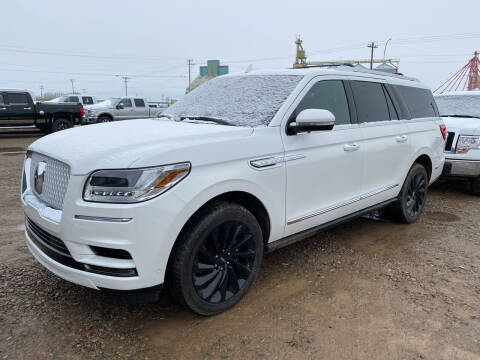 2020 Lincoln Navigator L for sale at Truck Buyers in Magrath AB