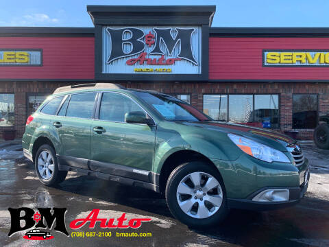 2012 Subaru Outback for sale at B & M Auto Sales Inc. in Oak Forest IL