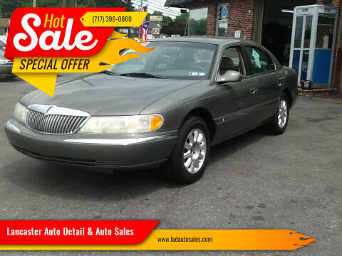 2000 Lincoln Continental for sale at Lancaster Auto Detail & Auto Sales in Lancaster PA