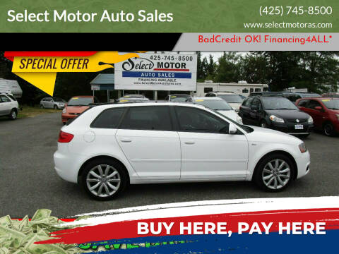 2009 Audi A3 for sale at Select Motor Auto Sales in Lynnwood WA