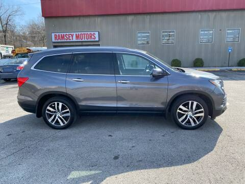 2016 Honda Pilot for sale at Ramsey Motors in Riverside MO