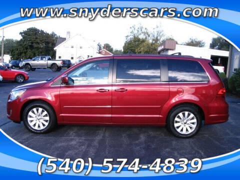 2012 Volkswagen Routan for sale at Snyders Auto Sales in Harrisonburg VA