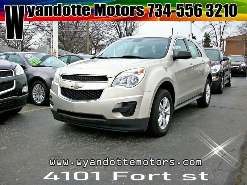 2013 Chevrolet Equinox for sale at Wyandotte Motors in Wyandotte MI