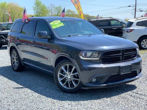 2016 Dodge Durango for sale at A&M Auto Sales in Edgewood MD