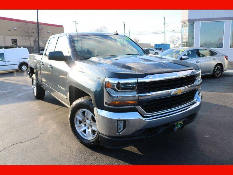 2017 Chevrolet Silverado 1500 for sale at AUTO POINT USED CARS in Rosedale MD