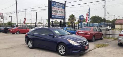 2011 Hyundai Sonata for sale at S.A. BROADWAY MOTORS INC in San Antonio TX