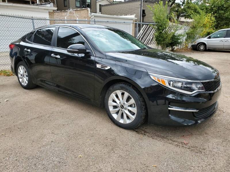 2018 Kia Optima for sale at ECONOMY AUTO MART in Chicago IL