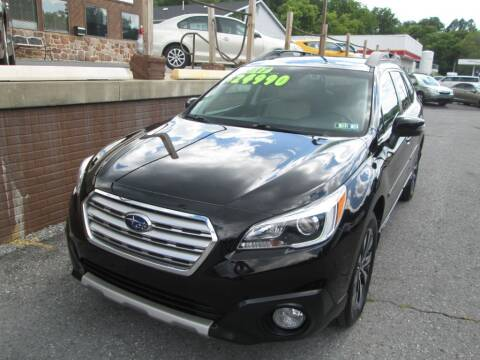 2017 Subaru Outback for sale at WORKMAN AUTO INC in Pleasant Gap PA