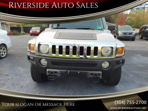 2006 HUMMER H3 for sale at Riverside Auto Sales in Saint Albans WV