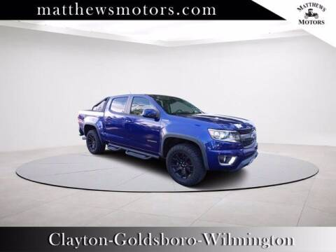 2016 Chevrolet Colorado for sale at Auto Finance of Raleigh in Raleigh NC