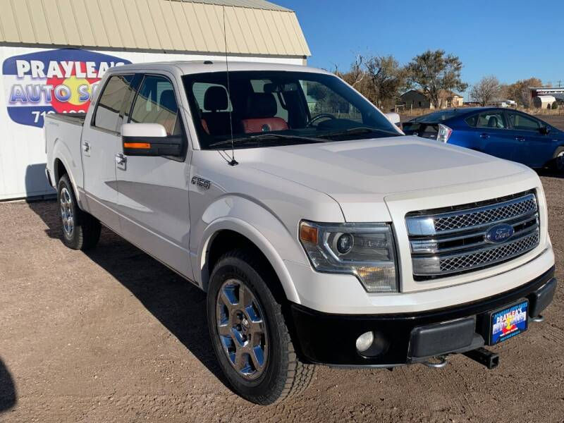 2013 Ford F-150 for sale at Praylea's Auto Sales in Peyton CO