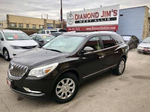 2013 Buick Enclave for sale at Diamond Jim's West Allis in West Allis WI