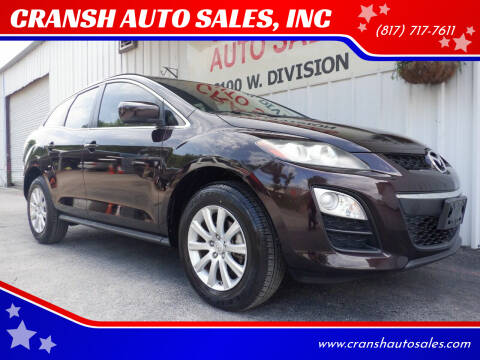 2012 Mazda CX-7 for sale at CRANSH AUTO SALES, INC in Arlington TX