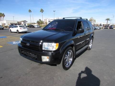 2001 Infiniti QX4 for sale at Charlie Cheap Car in Las Vegas NV