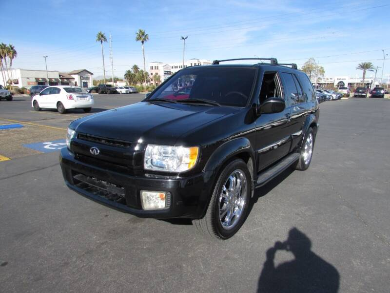2001 Infiniti QX4 for sale at Charlie Cheap Car in Las Vegas NV