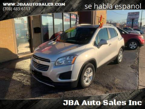 2015 Chevrolet Trax for sale at JBA Auto Sales Inc in Stone Park IL