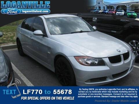 2007 BMW 3 Series for sale at Loganville Quick Lane and Tire Center in Loganville GA