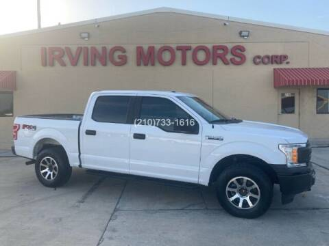 2018 Ford F-150 for sale at Irving Motors Corp in San Antonio TX