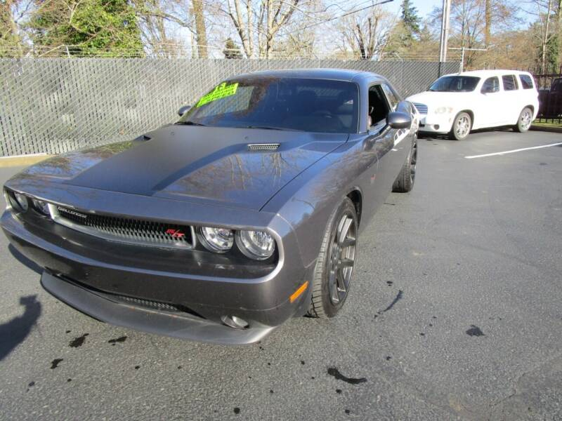 2013 Dodge Challenger for sale at LULAY'S CAR CONNECTION in Salem OR