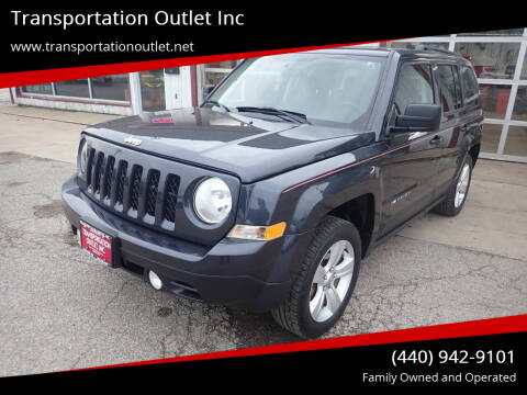 2015 Jeep Patriot for sale at Transportation Outlet Inc in Eastlake OH