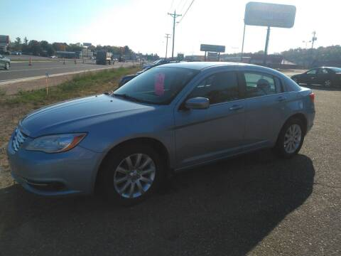 2013 Chrysler 200 for sale at Pepp Motors in Marquette MI