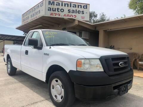 2007 Ford F-150 for sale at Mainland Auto Sales Inc in Daytona Beach FL