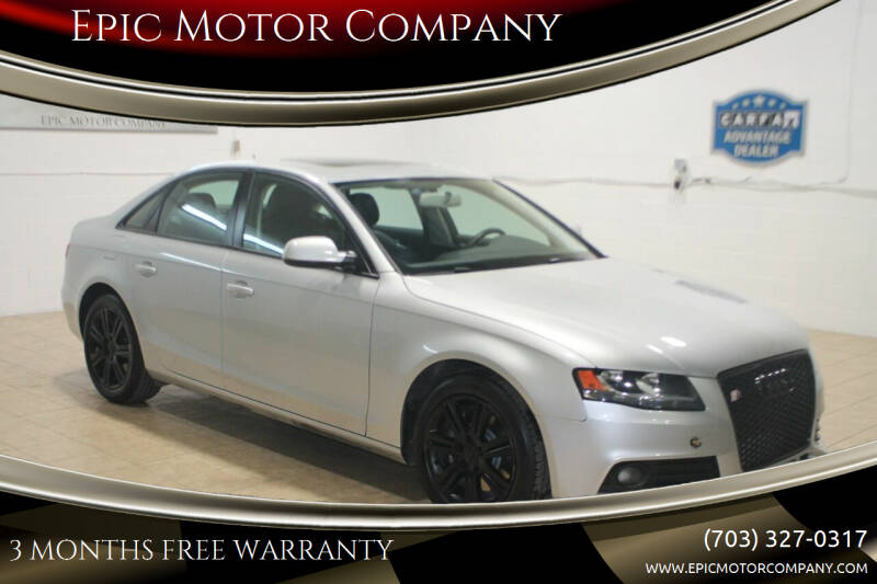 2011 Audi A4 for sale at Epic Motor Company in Chantilly VA