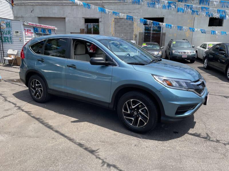 2016 Honda CR-V for sale at Riverside Wholesalers 2 in Paterson NJ