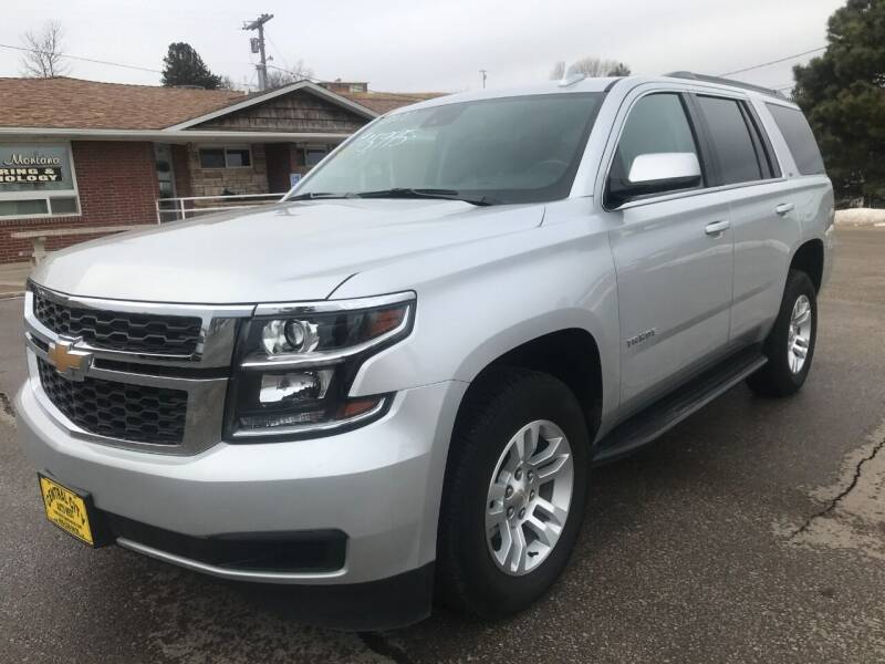 2020 Chevrolet Tahoe for sale at Central City Auto West in Lewistown MT