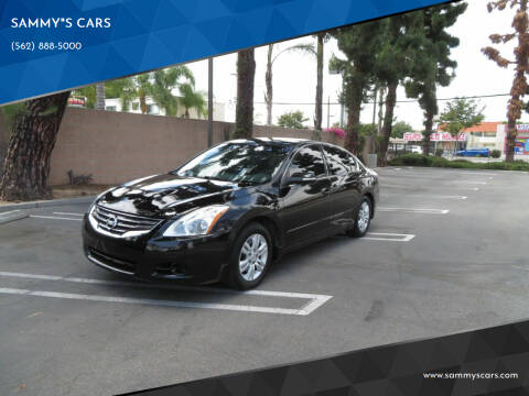 """2011 Nissan Altima for sale at SAMMY""""S CARS in Bellflower CA"""