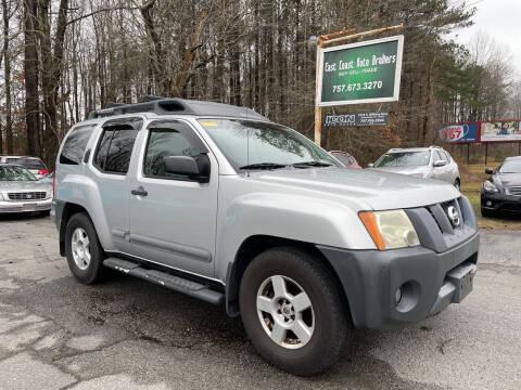 2006 Nissan Xterra for sale at East Coast Auto Brokers in Chesapeake VA