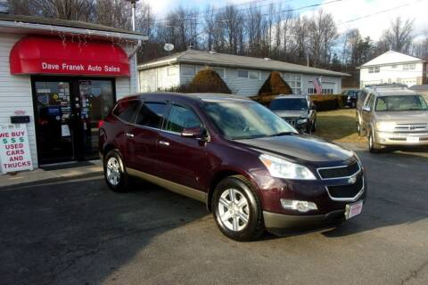2010 Chevrolet Traverse for sale at Dave Franek Automotive in Wantage NJ