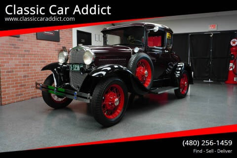 1931 Ford Model A for sale at Classic Car Addict in Mesa AZ