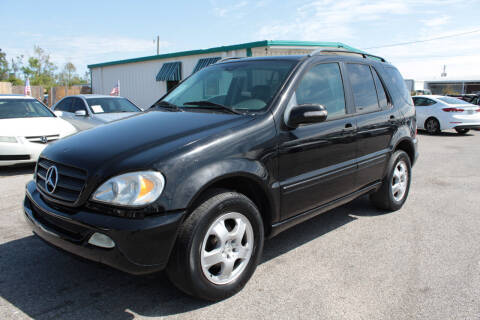 2003 Mercedes-Benz M-Class for sale at Jamrock Auto Sales of Panama City in Panama City FL