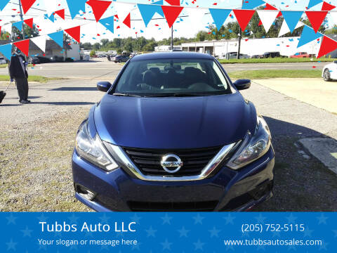 2018 Nissan Altima for sale at Tubbs Auto LLC in Tuscaloosa AL