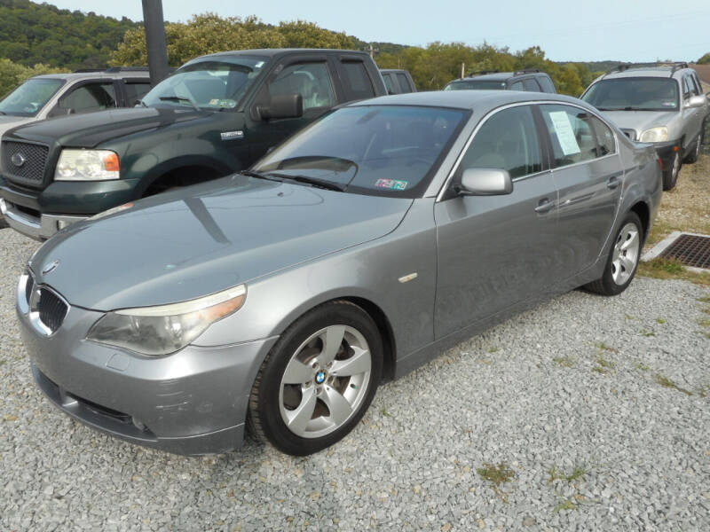 2006 BMW 5 Series for sale at Sleepy Hollow Motors in New Eagle PA