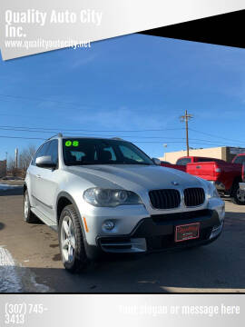 2008 BMW X5 for sale at Quality Auto City Inc. in Laramie WY