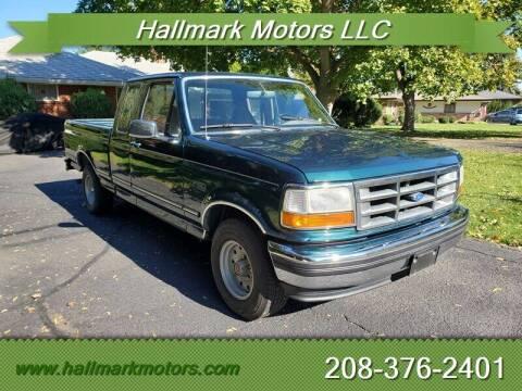 1994 Ford F-150 for sale at HALLMARK MOTORS LLC in Boise ID