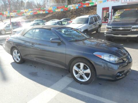 2008 Toyota Camry Solara for sale at Ricciardi Auto Sales in Waterbury CT