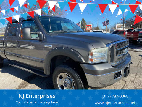 2005 Ford F-350 Super Duty for sale at NJ Enterprises in Indianapolis IN