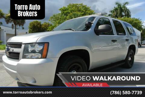 2012 Chevrolet Tahoe for sale at Torro Auto Brokers in Miami FL