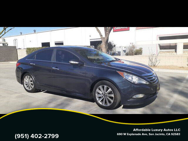 2014 Hyundai Sonata for sale at Affordable Luxury Autos LLC in San Jacinto CA