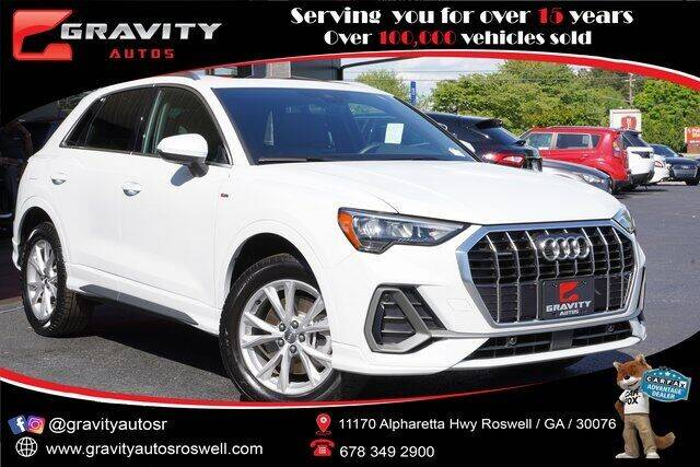 2021 Audi Q3 for sale at Gravity Autos Roswell in Roswell GA