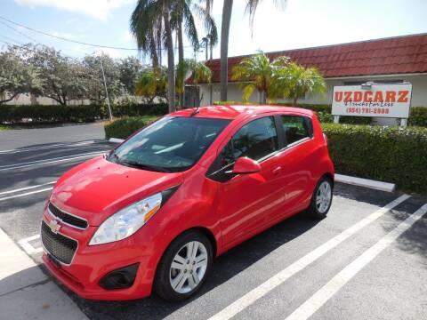 2014 Chevrolet Spark for sale at Uzdcarz Inc. in Pompano Beach FL