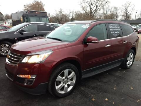 2017 Chevrolet Traverse for sale at Economy Motors in Muncie IN