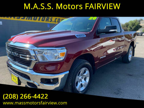 2020 RAM Ram Pickup 1500 for sale at M.A.S.S. Motors - Fairview in Boise ID